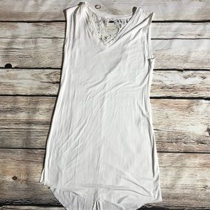 Anthropologie Eloise white lace dress S